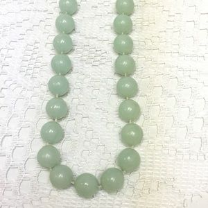 Mint Green Vintage bubblegum necklace
